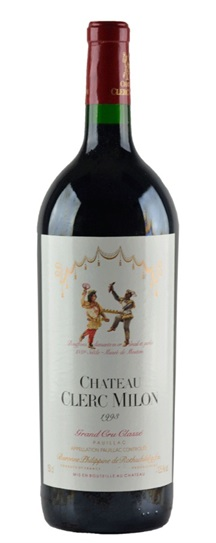 1993 Clerc Milon Bordeaux Blend