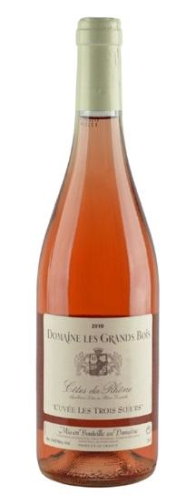 2010 Grands Bois, Domaine les Cotes du Rhone Rose
