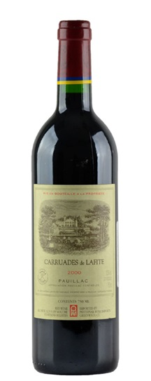 1985 Chateau Lafite-Rothschild Carruades de Lafite