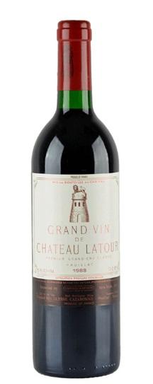 1988 Latour, Chateau Bordeaux Blend