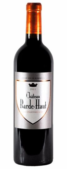 2011 Barde-Haut Bordeaux Blend