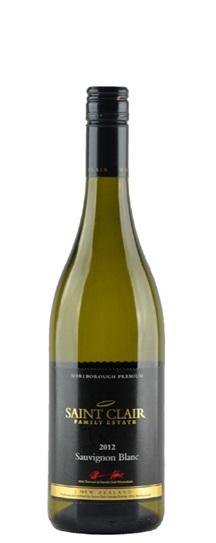 2012 Saint Clair Sauvignon Blanc