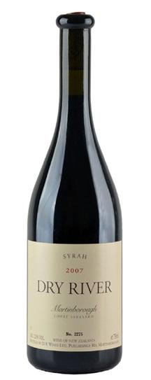 2007 Dry River Syrah Lovat Vineyard