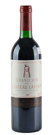 1979 Latour, Chateau Bordeaux Blend