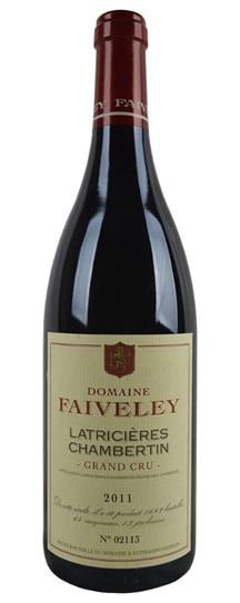 2011 Faiveley Latricieres Chambertin Grand Cru