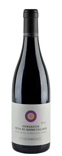 2009 Morel, Pierre Henri Signargues Cotes du Rhone Villages