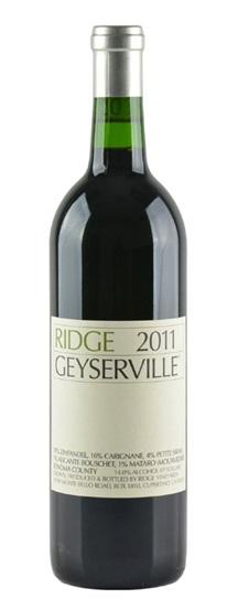 2011 Ridge Geyserville Proprietary Red Wine
