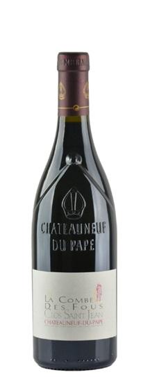 2010 Clos Saint-Jean Chateauneuf du Pape la Combe des Fous