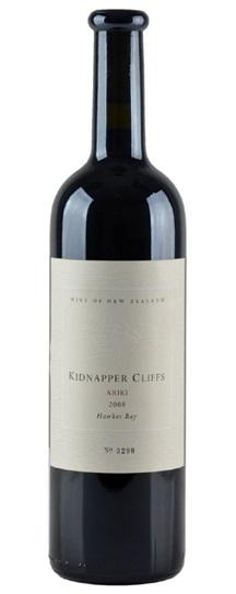 2008 Kidnapper Cliffs Ariki Red Blend