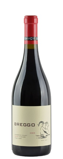 2009 Breggo Pinot Noir  Savoy Vineyard