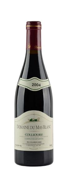 2004 Mas Blanc (Dr Parce), Domaine du Collioure Cosprons Levants