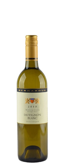 2010 Bernardus Sauvignon Blanc Griva Vineyard