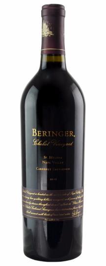 1985 Beringer Cabernet Sauvignon Chabot Vineyard