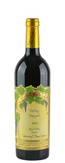 2001 Nickel & Nickel Cabernet Sauvignon Stelling Vineyard