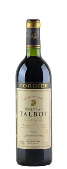 1983 Talbot Bordeaux Blend