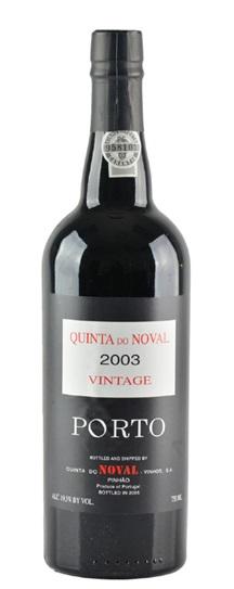 2003 Quinta do Noval Vintage Port