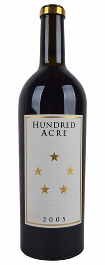 2003 Hundred Acre Vineyard Cabernet Sauvignon Kayli Morgan Vineyard