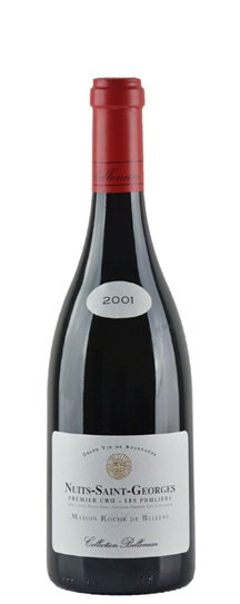 2001 Roche de Bellene, Maison Collection Bellenum Nuits St Georges 1er Cru Pruliers