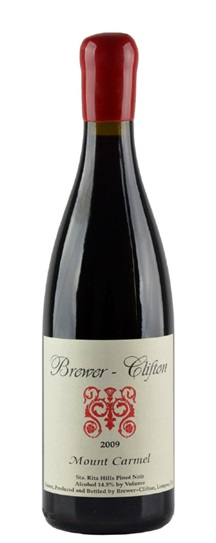 2009 Brewer-Clifton Pinot Noir Mount Carmel