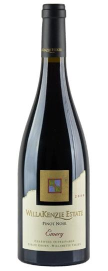 2009 Willakenzie Estate Pinot Noir Emery