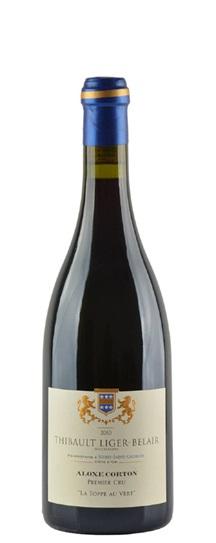 2010 Liger-Belair, Domaine Thibault Aloxe Corton Premier Cru La Toppe au Vert