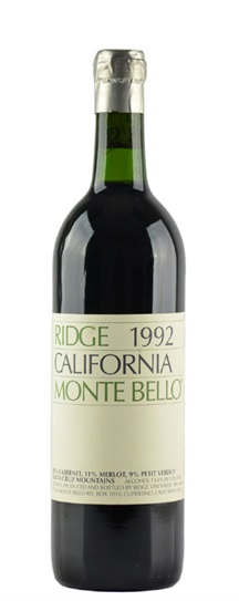 2000 Ridge Monte Bello
