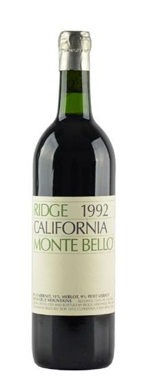 1998 Ridge Monte Bello