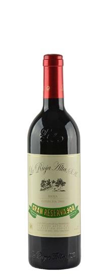 1995 La Rioja Alta Gran Reserva 904