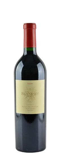 2000 Blankiet Cabernet Sauvignon Paradise Hills Vineyard