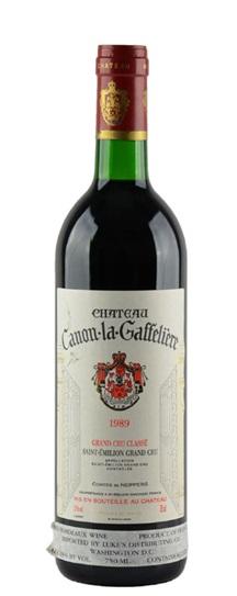 1989 Canon la Gaffeliere Bordeaux Blend