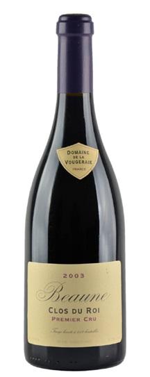 2003 Vougeraie, Domaine de la Beaune Clos du Roi