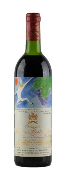 1982 Mouton-Rothschild Bordeaux Blend
