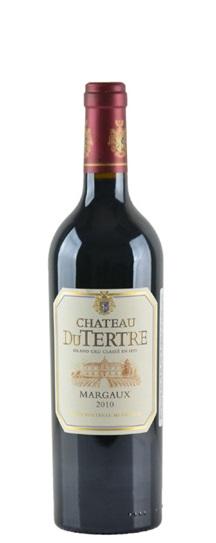 2010 Du Tertre Bordeaux Blend