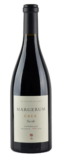 2008 Margerum Wine Co Syrah UBER