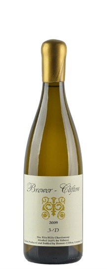 2009 Brewer-Clifton Chardonnay 3 D