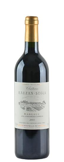 2003 Rauzan-Segla (Rausan-Segla) Bordeaux Blend