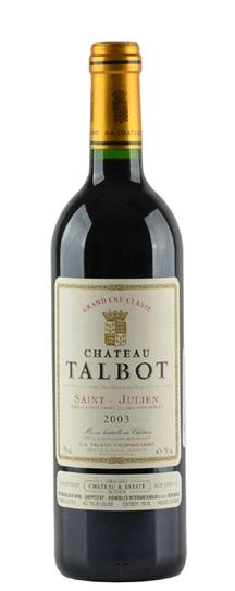 2003 Talbot Bordeaux Blend