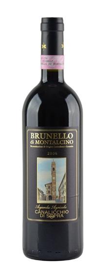 2006 Canalicchio di Sopra Brunello di Montalcino
