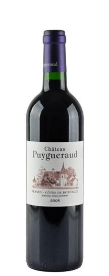 2008 Puygueraud Bordeaux Blend
