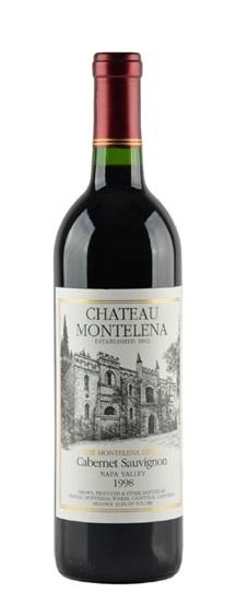 1998 Chateau Montelena Cabernet Sauvignon Estate