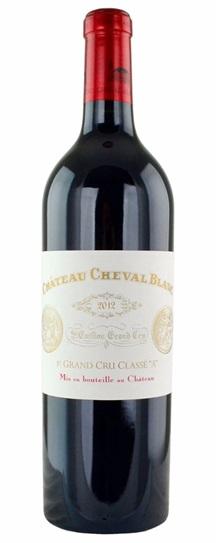 2012 Cheval Blanc Bordeaux Blend