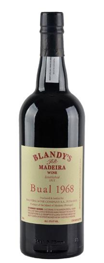1968 Blandy's Bual Madeira