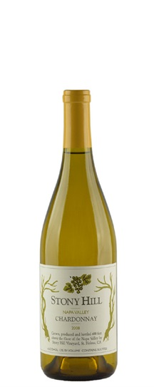 2008 Stony Hill Chardonnay
