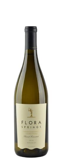2010 Flora Springs Chardonnay Barrel Fermented