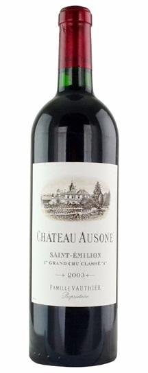 2004 Ausone Bordeaux Blend