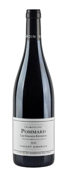2010 Vincent Girardin Pommard Grands Epenots Vieilles Vignes