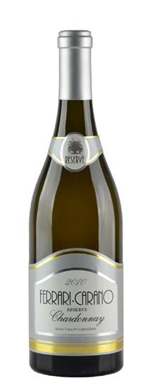 2010 Ferrari-Carano Chardonnay Reserve