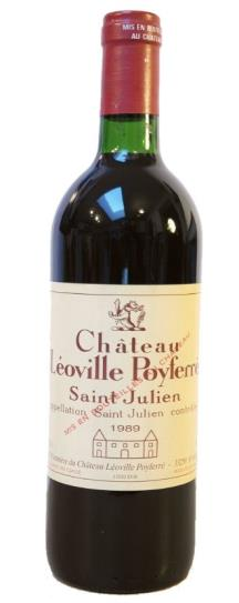 1989 Leoville-Poyferre Bordeaux Blend