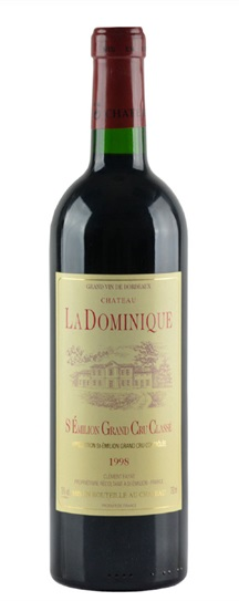 1998 Dominique, La Bordeaux Blend