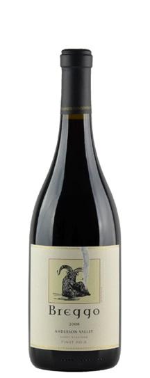 2008 Breggo Pinot Noir  Savoy Vineyard